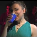 Amy at the club